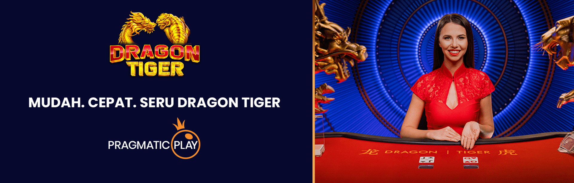 Try the all new Pragmatic Play Casino Dragon Tiger!